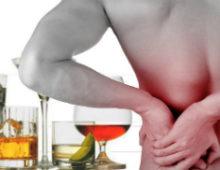 Болезненные ощущения в почках после употребления алкоголя