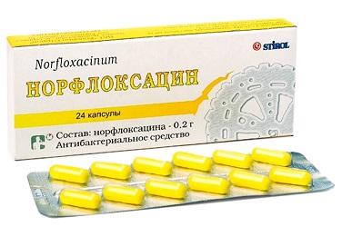 нофлоксацин