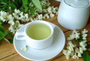 Чай с белой акацией