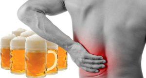 Болят почки из-за пива