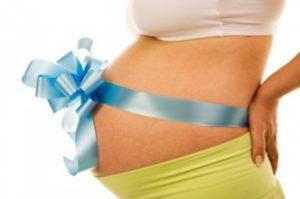 Девушка беременная