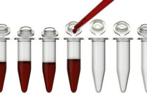 анализ крови в мини пробирках