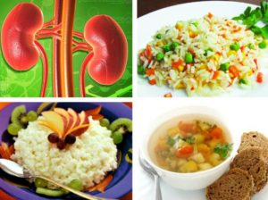 Разрешенные продукты при хронической почечной недостаточности