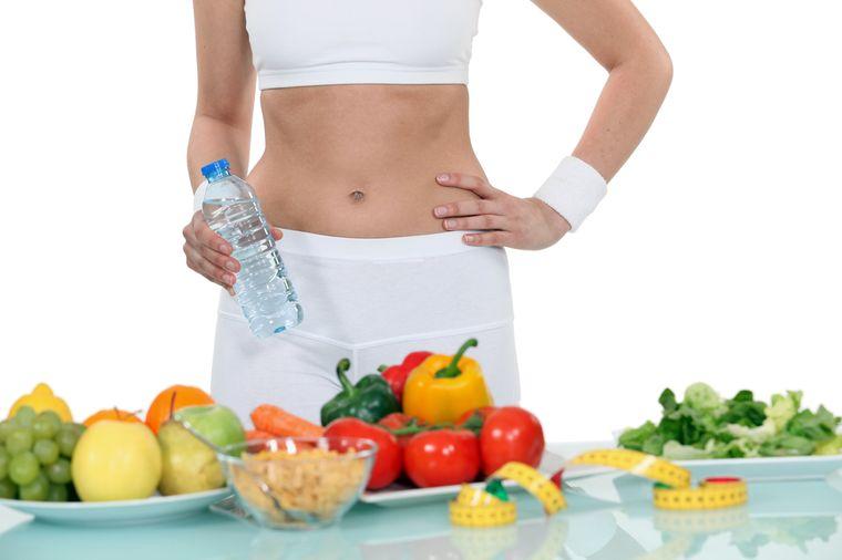 Похудения диета с уксусом и Похудение с помощью