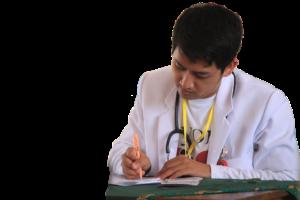 доктор пишет