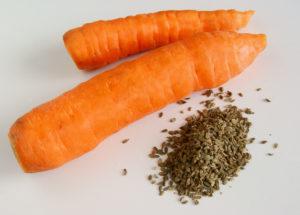 морковь и семена