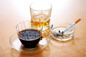 кофе коньяк сигареты