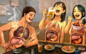 рисунок плохое питание
