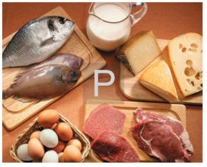 еда богатая на фосфор