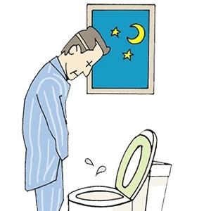 рисунок мужчмны в туалете ночью