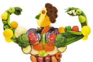 человек из овощей