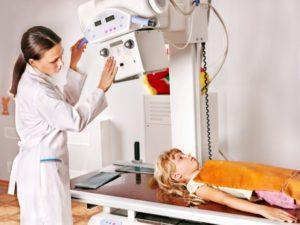 рентген почек у ребенка
