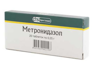 Метронидазол у детей