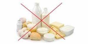 молочные продукты под запретом