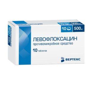 Левофлоксацин от хронического цистита