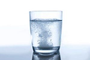 вода с препаратом