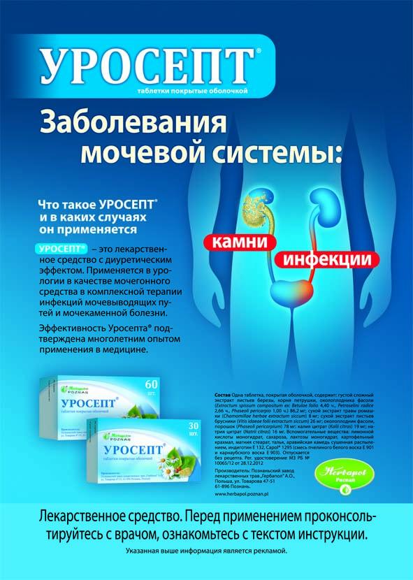 брошюра Заболевания мочевой системы
