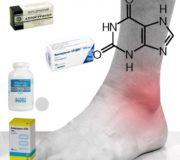 Аллопуринол и нога